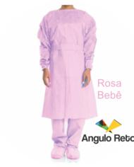 Jaleco Rosa bebê